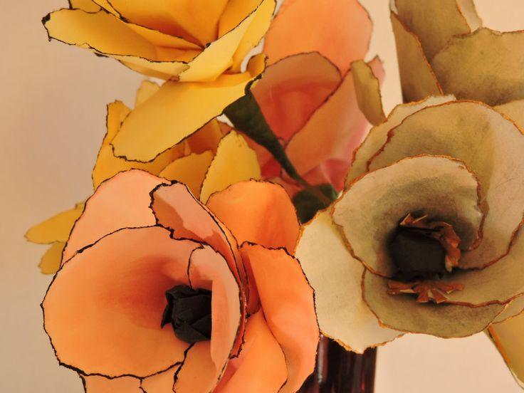 DIY květina z papíru