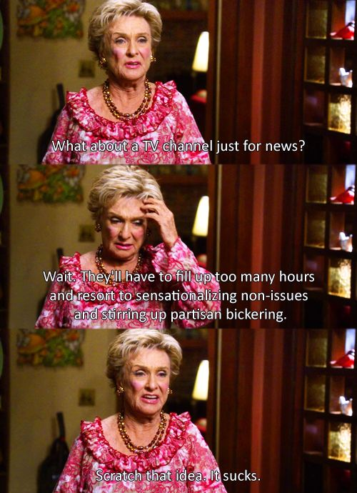 Love her on Raising Hope.  How come Betty White is getting all the kudos?
