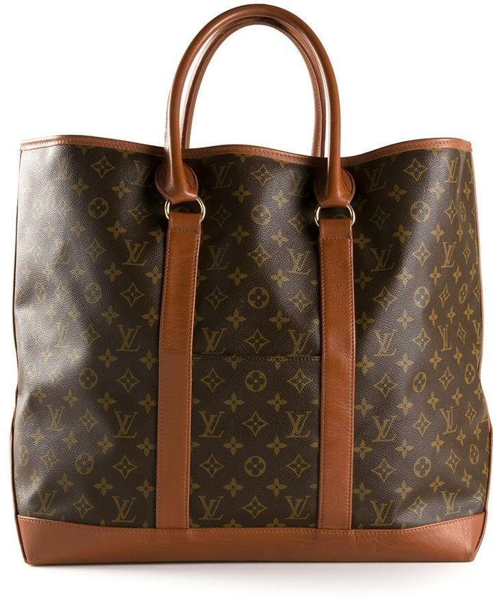 Louis Vuitton Vintage large weekend tote