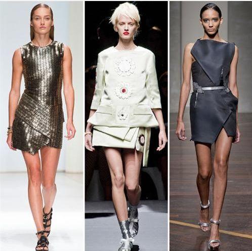 Картинки по запросу асимметричные платья 2013