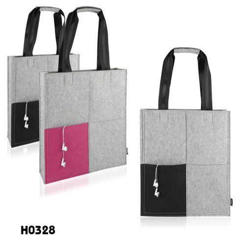 2014 cool flat felt tote bag
