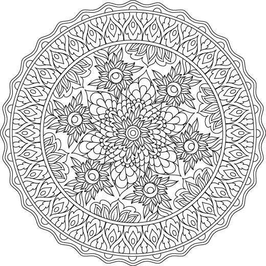 3124 Best Mandalas Images On Pinterest