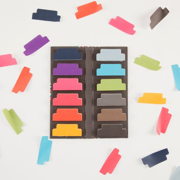 #popofcolor sticky tab dividers Post it notes