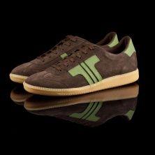 Tisza shoes , model Comfort - brown / green
