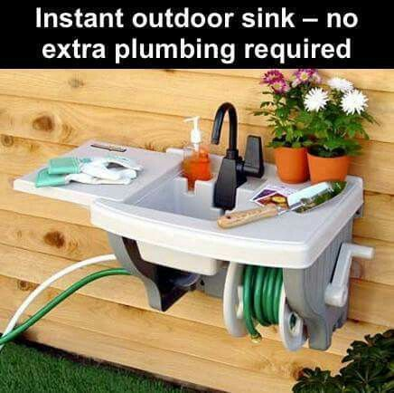 outdoor kitchen sink plumbing discover 17 best ideas about outside sink on 3869