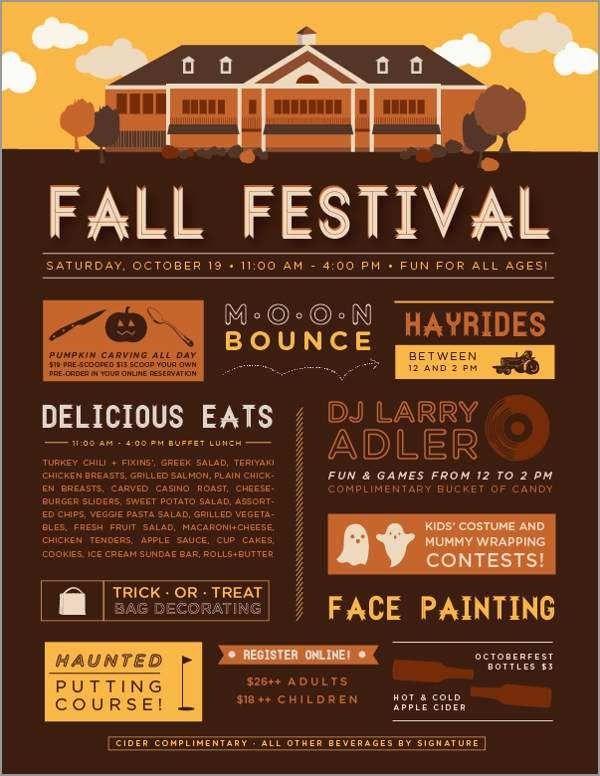 Free Printable Fall Festival Flyer Templates New 40 Event Flyer Event Flyer Templates Event Flyer Festival Flyer