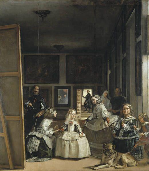 Las Meninas by Diego Rodríguez de Silva y Velázquez (circa 1656)