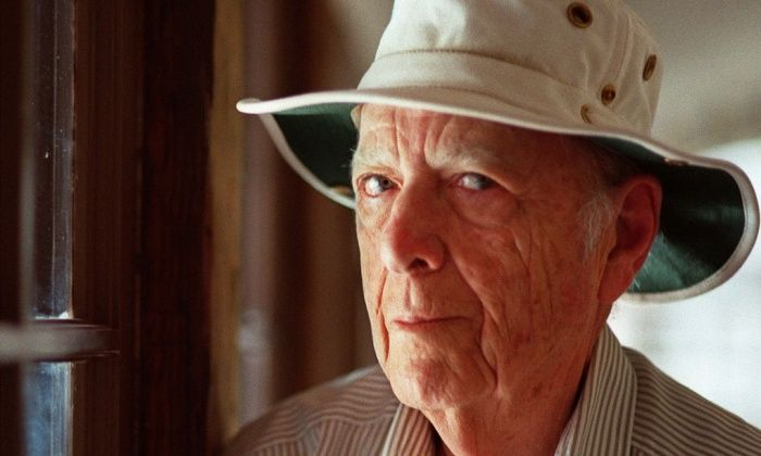 Herman Wouk at home in Palm Springs, California, in 2000. Herman Wouk to publish first memoir aged 100