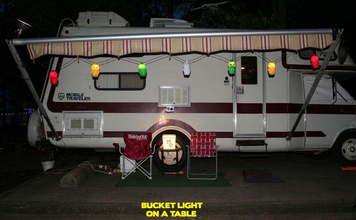 9 Best Campsite Decorations Images On Pinterest Bucket