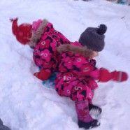 Schnee macht Spass, in Lappland kann man den laaaaaange geniessen <3