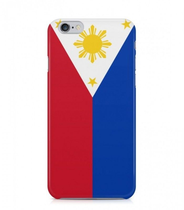 Philippine or Filipino Flag 3D Iphone Case for Iphone 3G/4/4g/4s/5/5s/6/6s/6s Plus - FLAG-PH - FavCases