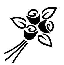 plantilla stencil flor - Buscar con Google