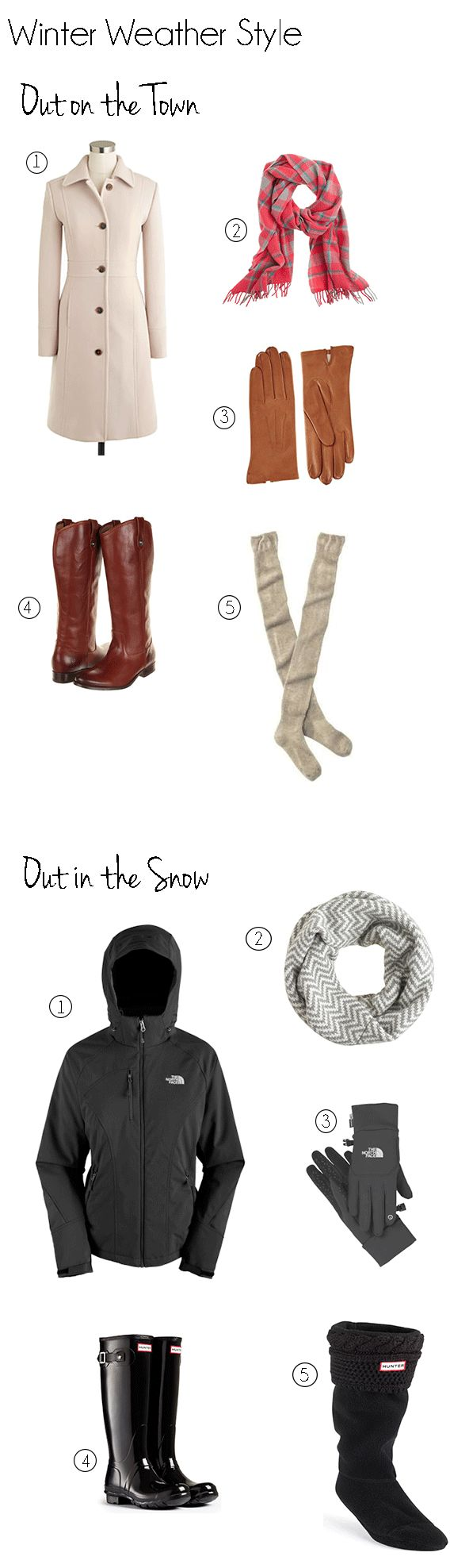 How to dress cute and warm for cold weather