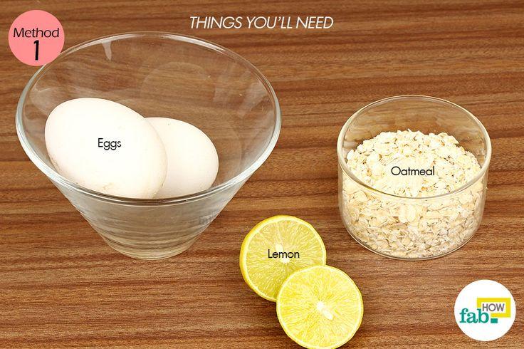 egg white mask for large pores