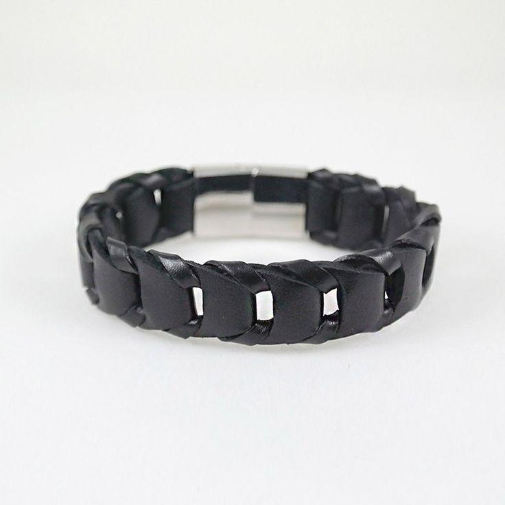 George Cuff / black leather