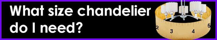 What Size Chandelier Do I Need | Light Bulbs Etc