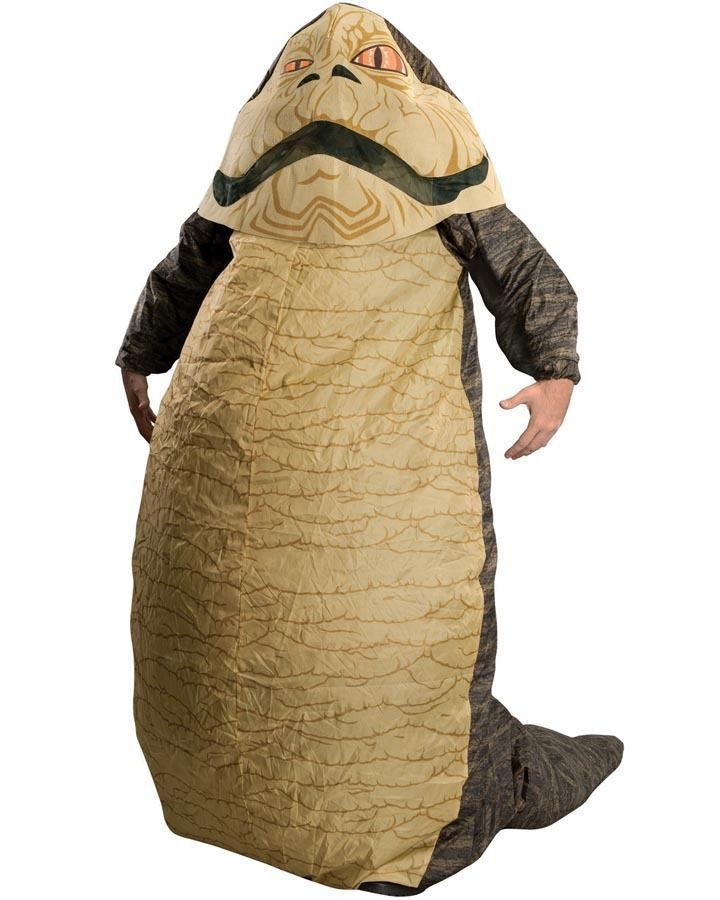 Men Costumes: Brand New Licensed Star Wars Deluxe Adult Inflatable Jabba The Hutt Costume -> BUY IT NOW ONLY: $49.95 on eBay!