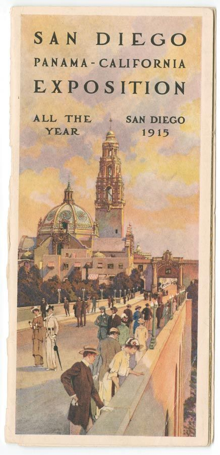 Next year marks the 100th anniversary of the San Diego, Panama-California Exposition of 1915. Be ready for some celebration!