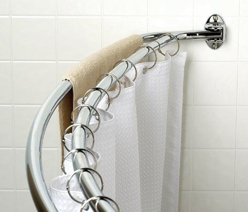 double shower curtain rod 18 best images about curved tension shower rod on 29297
