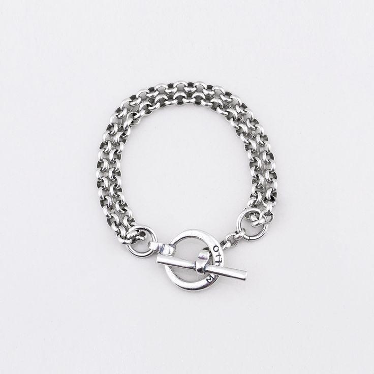 Miglio Designer Jewellery - Belcher Chain Bracelet