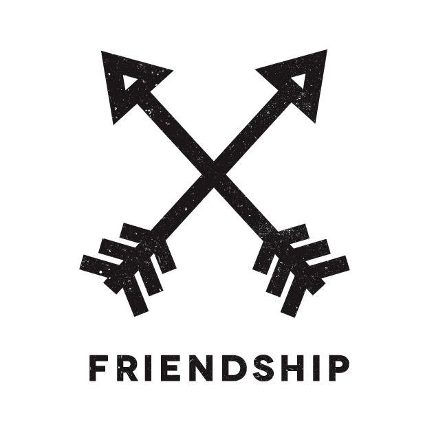 best 25 friendship symbol tattoos ideas on pinterest