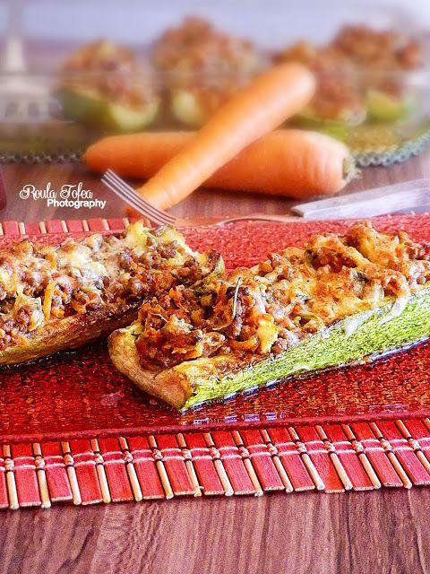 MY LIFE MY MEMORIES: Κολοκυθάκια φούρνου με κιμά και σάλτσα ντομάτας!