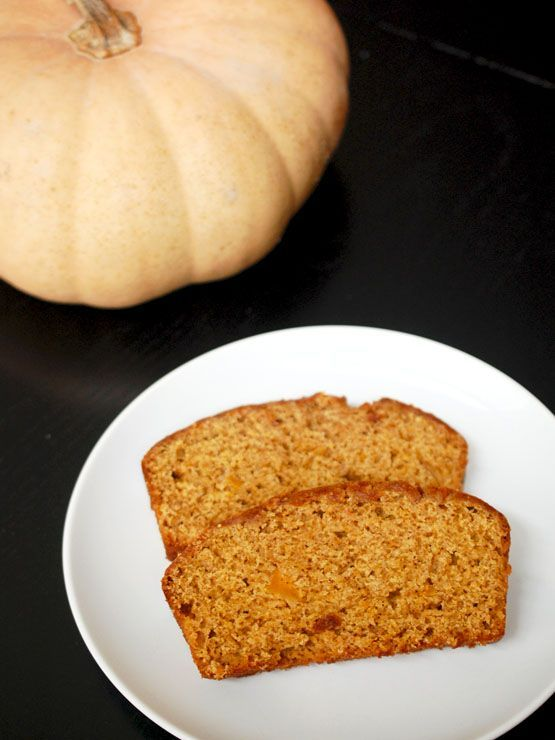 This Spiced Butternut Squash Bread tastes just like a traditional pumpkin bread - it's chock full of fall spices and contains no butter or oil!