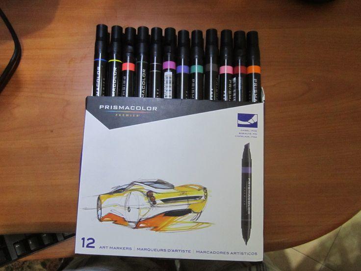 prismacolor markers set of 12