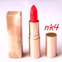2014 de alta calidad de humedad NK4 mate color del lápiz labial de larga duración pintalabios desnuda maquillaje cosmético 2PCS / LOT