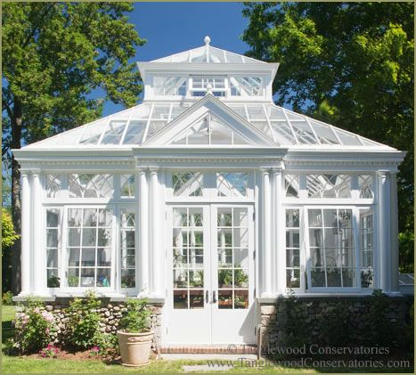 Conservatory in England | Classic English Greenhouse Conservatory in New England