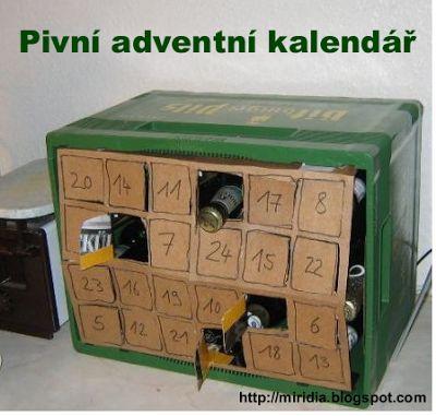 adventní kalendář domácí výroba - Hledat Googlem