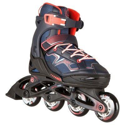 GLISSE URBAINE Trottinette, skate, roller... - Roller FIT 3 Junior Navy Blue OXELO - Rollers