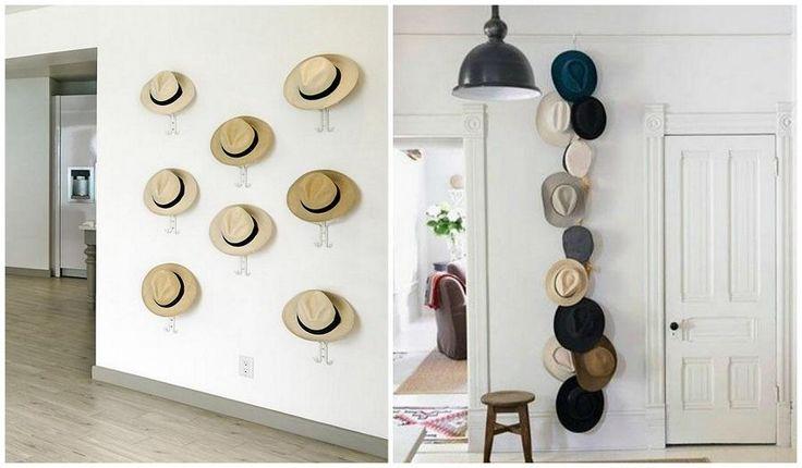 17 mejores ideas sobre colgar sombreros en pinterest - Perchero para sombreros ...