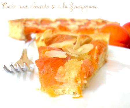 tarte aux abricots et a la creme d'amandes