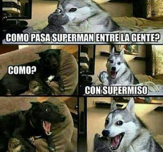 Como pasa superman?
