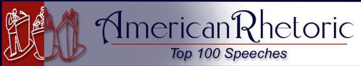 American Rhetoric: Top 100 Speeches of the 20th Century by Rank