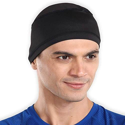 Tough Headwear Sweat Wicking Helmet Liner Cooling Skull Cap For