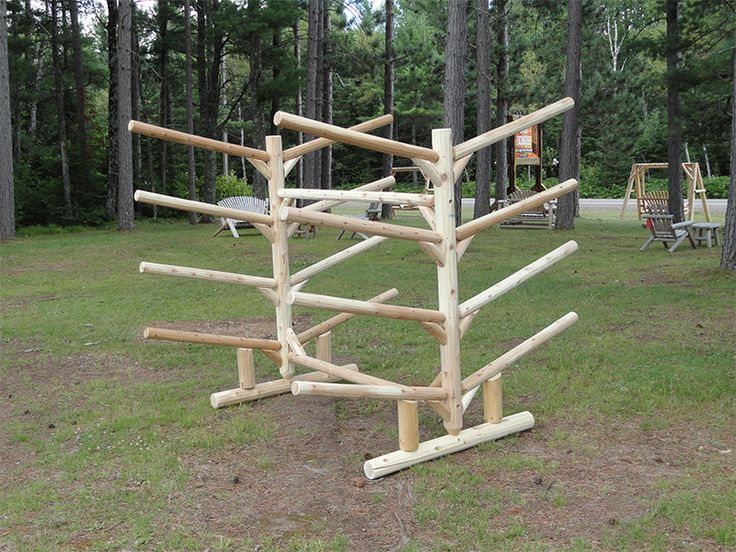 8 kayak rack. 8place doublesided Cabin Living