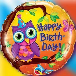 """Birthday Owl"""