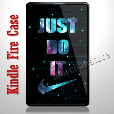 Just Do It Sparkle Kindle Fire Case