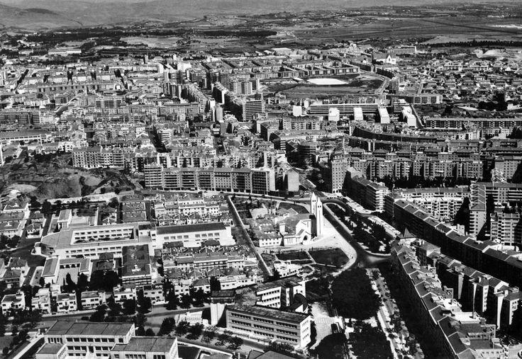 A atual freguesia do Areeiro em 1953