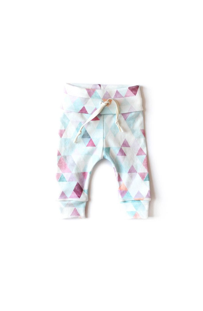 Organic Drawstring Leggings Orchid Watercolor – Babysprouts & Co