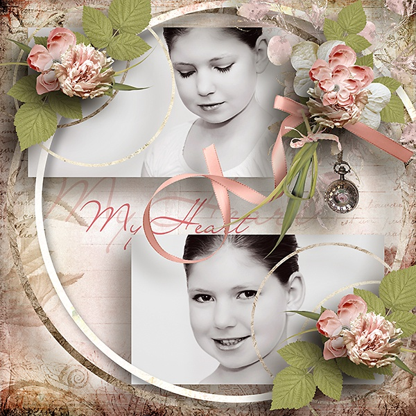 *** NEW ***  Cerchi di Eleganza 2 by Let Creativity Run Loose  http://www.myscrapartdigital.com/shop/index.php?main_page=product_info=24_97_id=1826  Kit used  Romantique by Lilas  You can get it for free at her blog   http://lilasdigiscrap.blogspot.nl/
