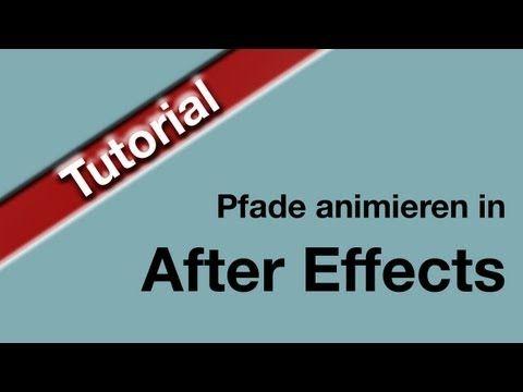 Tolles Tutorial zum Thema animierte Pfade mit After Effects