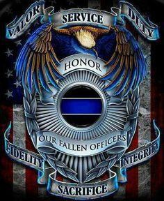 Police Thin blue line