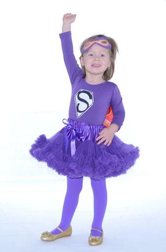 farsangi jelmez lila  pettiskirt tütü supergirl superhero szuperhősnő szuperhős fancy dress