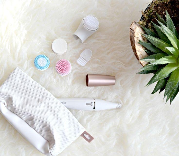 Beauty: Gesichtsreinigung mit dem Braun Face - Epilierer und Reinigungsbürsten #beauty #braun #epilierer #face #reinigung #cleansing