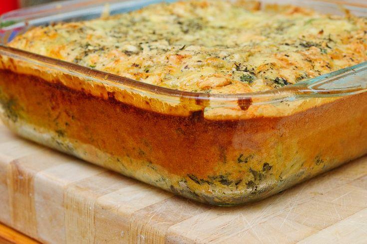Oventaart van spinazie en quinoa - Powered by @ultimaterecipe