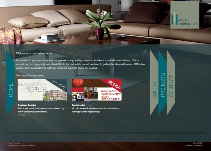 kavalproperties.com/ Calgary website design by Kreative Kekeli Design & Marketing
