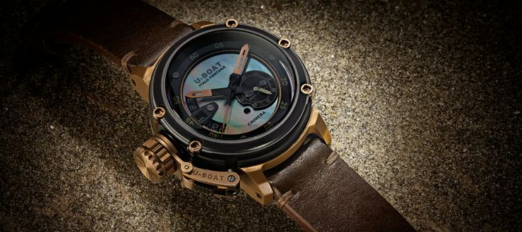 The new U-BOAT Chimera Mother of Pearl astonishes with its steampunk-like appeal - U-Boat